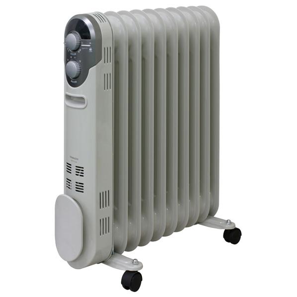 山善 DO-TL125-W オイルヒーター ホワイト [DOTL125W]