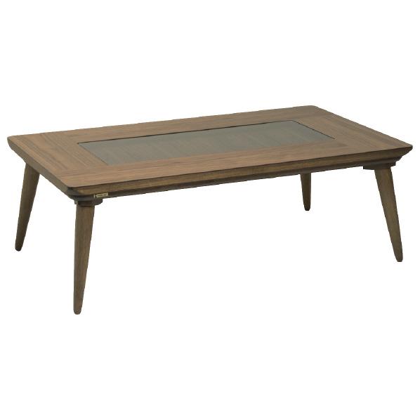 (お取り寄せ)協立工芸 長方形こたつ(120×70cm) ブラウン オペラ120OM