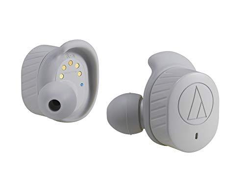 (予約受付中:11/9発売予定)オーディオテクニカ(audio-technica)完全ワイヤレス Bluetoothイヤホン ATH-SPORT7TW-GY (グレー)
