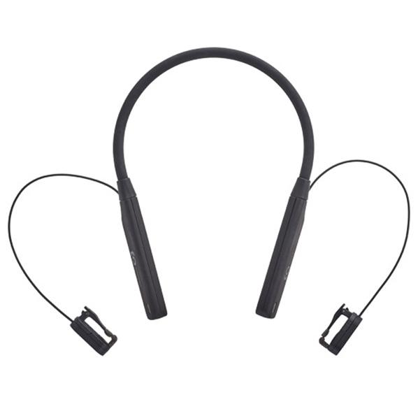 BoCo ワイヤレス骨伝導イヤフォン(会話用) earsopen ブラック HA5SCL1002