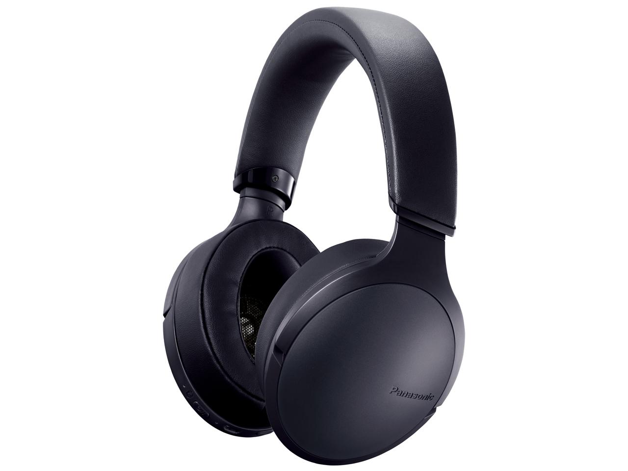 パナソニック RP-HD300B-K(ブラック) ワイヤレスステレオヘッドホン [RPHD300BK]
