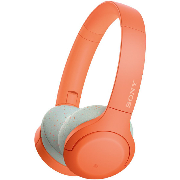 SONY WH-H810 D Bluetoothヘッドフォン オレンジ [WHH810D]