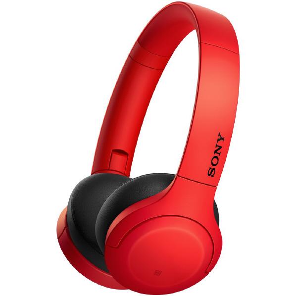 SONY WH-H810 R Bluetoothヘッドフォン レッド [WHH810R]