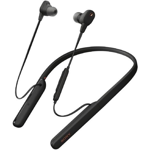 SONY WI-1000XM2B Bluetoothイヤフォン ブラック [WI1000XM2B] ※納期目安:2~3週間