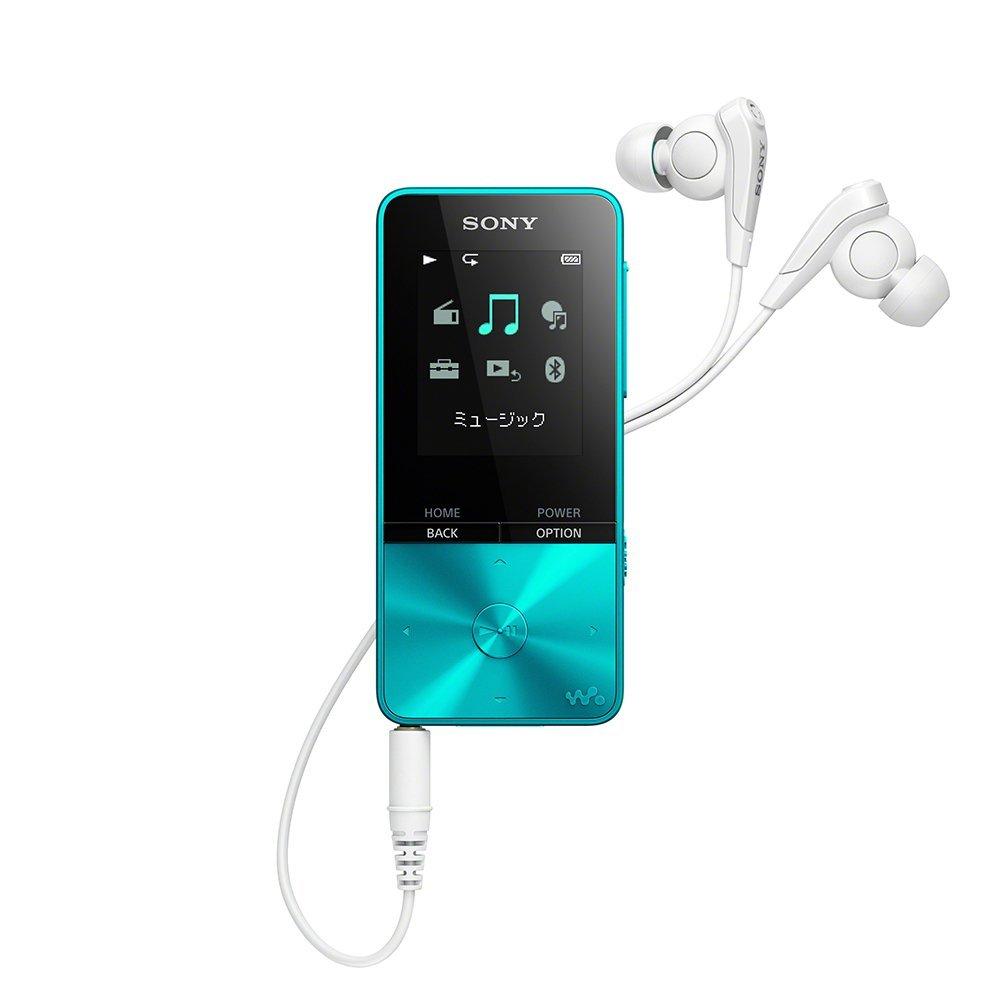(在庫あり)SONY NW-S313-L ブルー 4GB ソニー ウォークマン イヤホン付属 Bluetooth対応 [NWS313L]