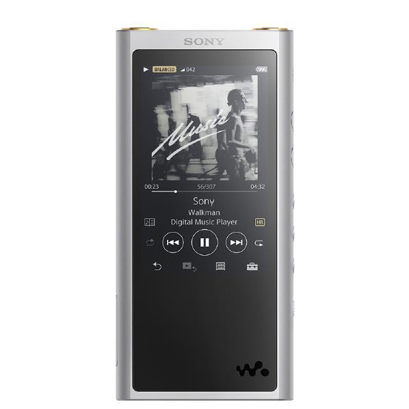 (お取り寄せ:納期約2週間)SONY デジタルオーディオプレーヤー(64GB) ウォークマンZXシリーズ シルバー NW-ZX300-S [NWZX300S]