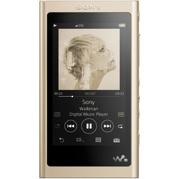 ハイレゾスタンダードモデル 在庫あり SONY NW-A55 N デジタルオーディオプレイヤー ペールゴールド ウォークマン 16GB 国内送料無料 NWA55N 格安激安 Aシリーズ