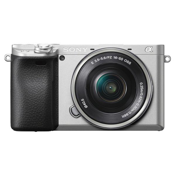 (お取り寄せ:納期目安2週間~)SONY ILCE-6400L S デジタル一眼カメラ・パワーズームレンズキット α6400 シルバー [ILCE6400LS]