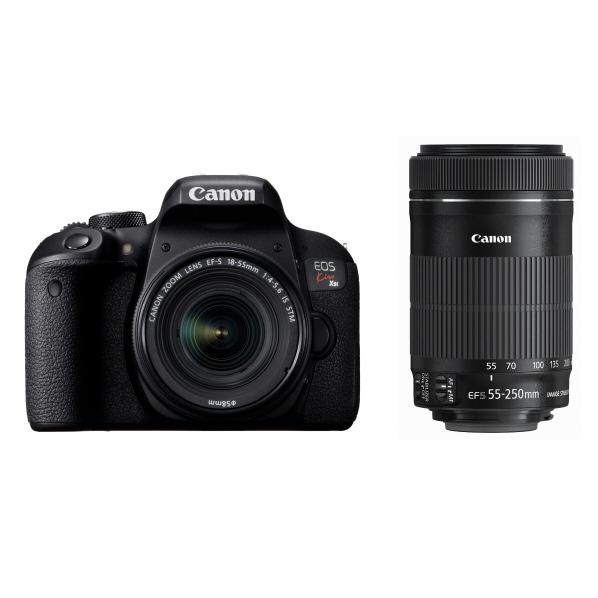 キャノン(Canon)デジタル一眼レフカメラ・ダブルズームキット EOS Kiss X9i ブラック KISSX9IWKIT
