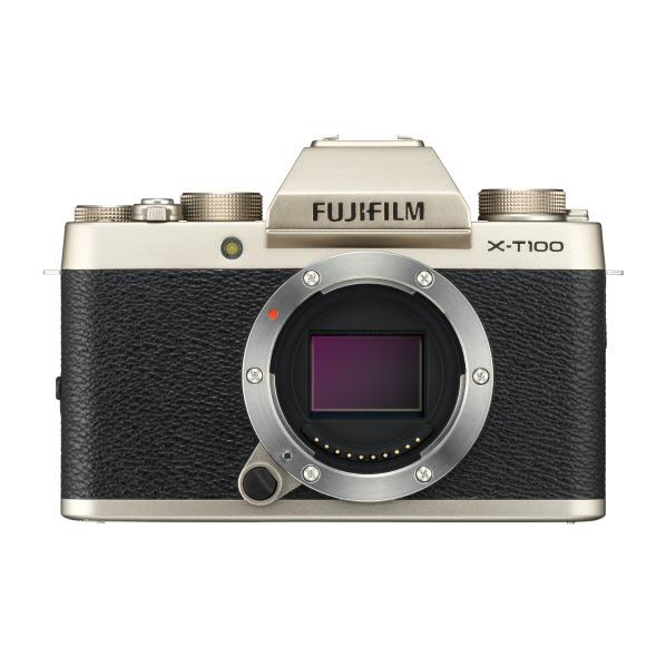 富士フイルム デジタル一眼カメラ・ボディ シャンパンゴールド FXT100G
