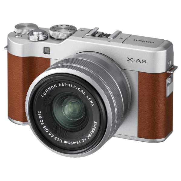 富士フイルム デジタル一眼カメラ・レンズキット X-A5 ブラウン FXA5LKBW