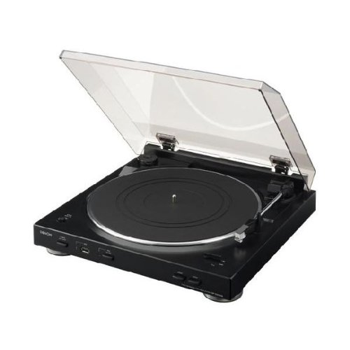 DENON DP-200USB-K レコードプレーヤー ブラック [DP200USBK]