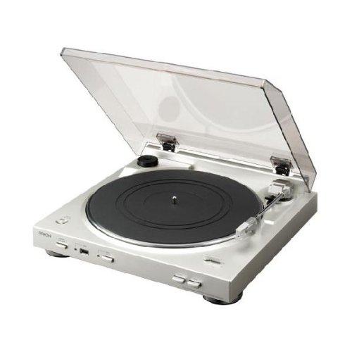 DENON DP-200USB-SP レコードプレーヤー プレミアムシルバー [DP200USBSP]