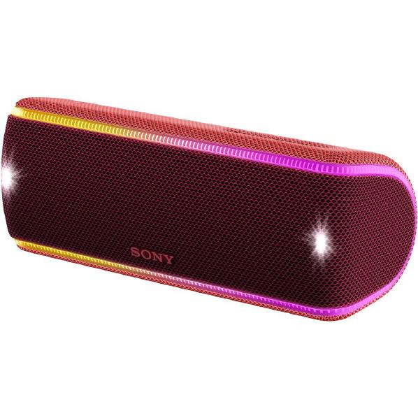 (お取り寄せ)SONY SRS-XB31-R ワイヤレスポータブルスピーカー ツートーンレッド [SRSXB31R]