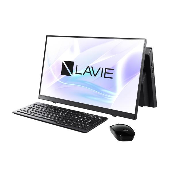【正規品直輸入】 NEC PC-A2365BAB 一体型デスクトップパソコン LAVIE A23 ファインブラック [PCA2365BAB], ペットバルーン 031365a9