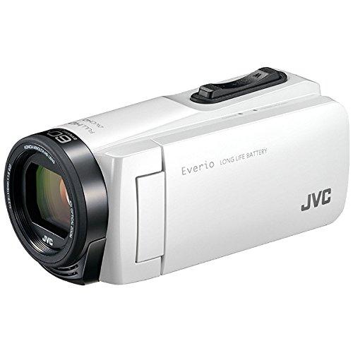 JVCKENWOOD JVC ビデオカメラ Everio 耐衝撃 耐低温 32GB ホワイト GZ-F270-W