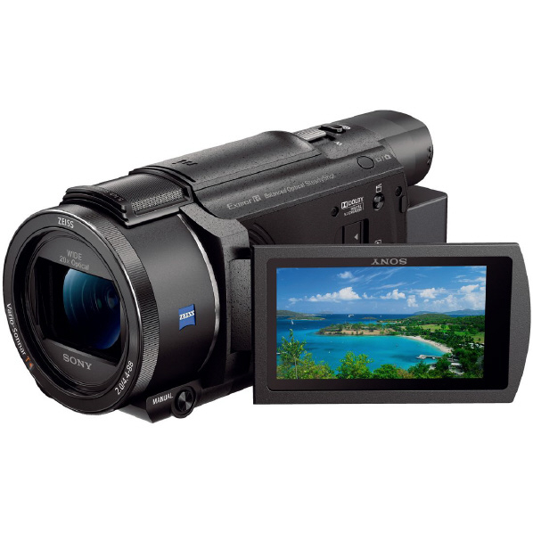SONY FDR-AX60 B 64GB内蔵メモリー デジタル4Kビデオカメラ ハンディカム ブラック [FDRAX60B]