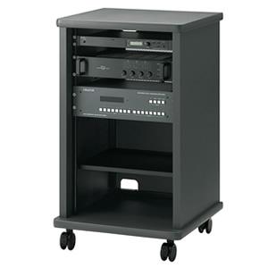 HAMILEX/ハヤミ CQ-6510 業務用ラック 小型テレビも設置可能 EIA規格16U対応マウントラック※配送設置:最寄のエディオン商品センターよりお伺い致します。[※サービスエリア外は別途配送手数料が掛かります]