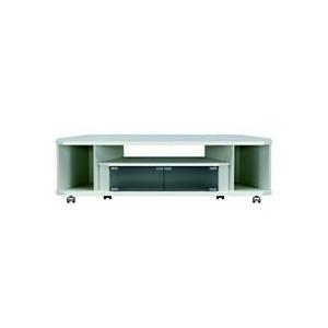 朝日木材 ~52V型まで対応 薄型テレビ台 CN style ホワイト AS-CN1200-W [ASCN1200W] ※配送方法:大型品