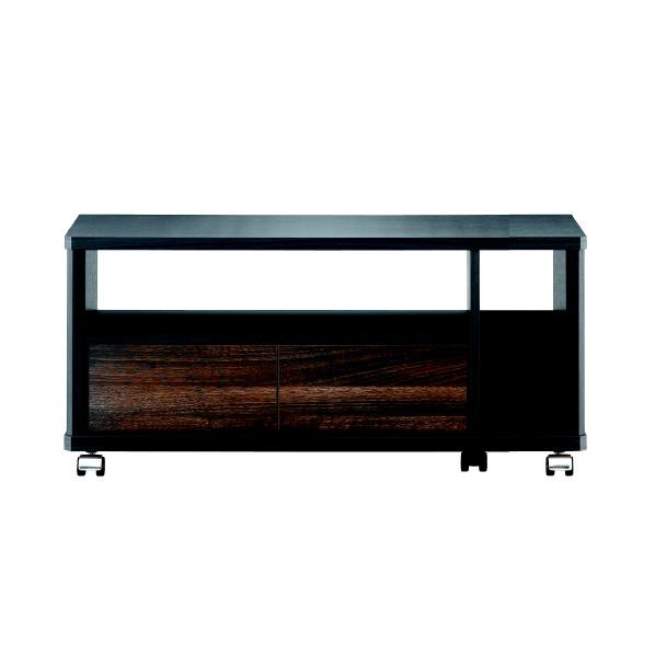 朝日木材 AS-EE740 32V型対応 テレビ台 EEシリーズ アッシュグレイ&ウォールナット [ASEE740] ※配送方法:大型品