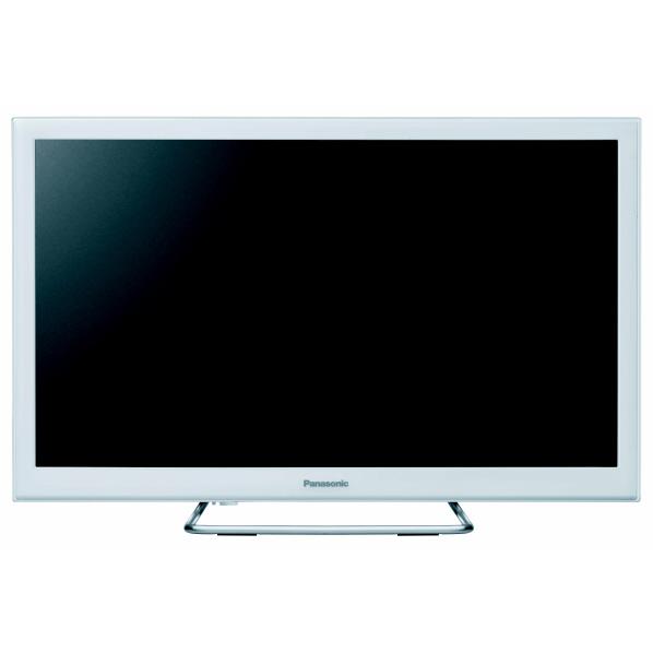 地デジもネット動画も高画質で見られる。 パナソニック TH-24ES500-W 24V型ハイビジョン液晶テレビ VIErA ホワイト [TH24ES500W]