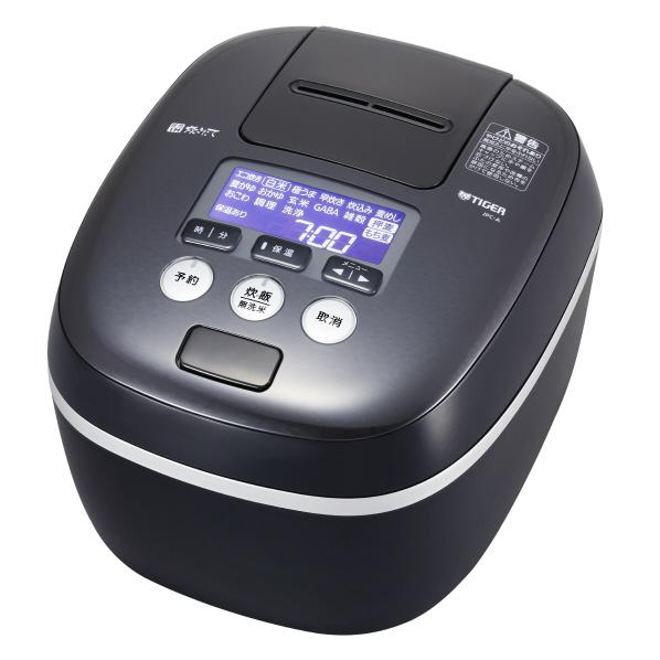 (お取り寄せ)タイガー JPC-A102-KE 圧力IH炊飯ジャー(5.5合炊き) 炊きたて アーバンブラック [JPCA102KE]