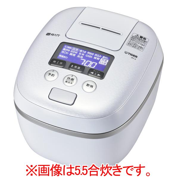 (お取り寄せ)タイガー JPC-A182-WE 圧力IH炊飯ジャー(1升炊き) 炊きたて アーバンホワイト [JPCA182WE]