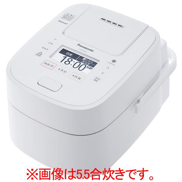 パナソニック SR-VSX188-W スチーム&可変圧力IH炊飯ジャー(1升炊き) Wおどり炊き ホワイト [SRVSX188W]