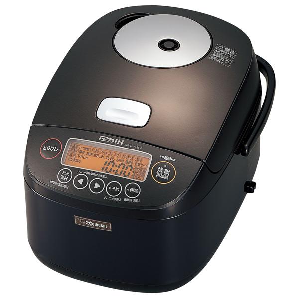 象印 NP-BW18E6-TD 圧力IH炊飯ジャー(1升炊き) KuaL 極め炊き ダークブラウン [NPBW18E6TD]