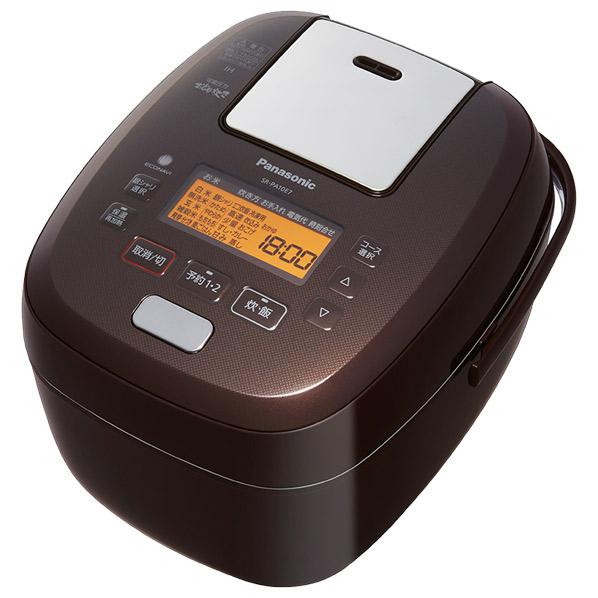 パナソニック SR-PA10E7-T 可変圧力IH炊飯ジャー(5.5合炊き) KuaL 可変圧力おどり炊き ブラウン [SRPA10E7T]