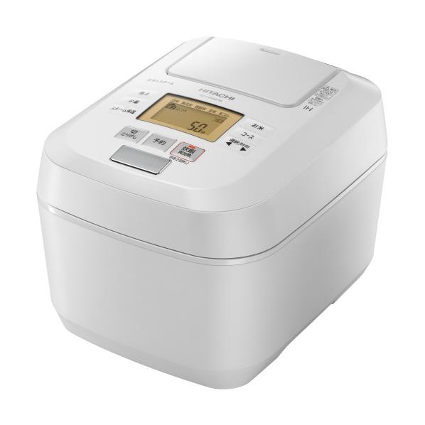 日立 RZ-C1000E7MW 圧力&スチームIH炊飯ジャー(5.5合炊き) オリジナル ふっくら御膳 パールホワイト [RZC1000E7MW]