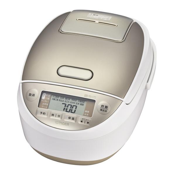 タイガー JPK-A180W 圧力IH炊飯ジャー(1升炊き) 炊きたて ホワイト [JPKA180W]