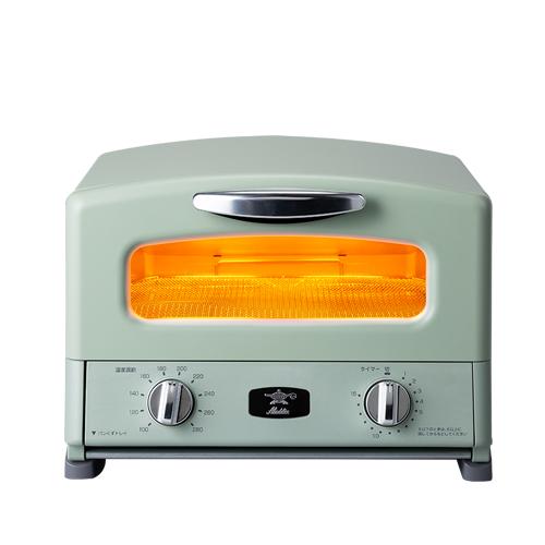 (在庫あり)アラジン(Aladdin) AGT-G13A/G グリーン Graphite Grill & Toaster[AGT-G13A-G]