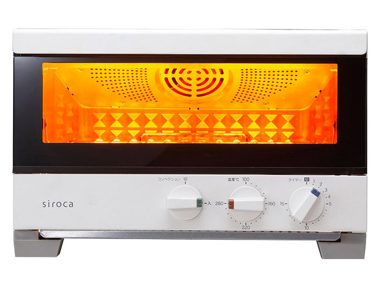 シロカ ST-4A251(W) オーブントースター すばやき ホワイト [ST4A251W]