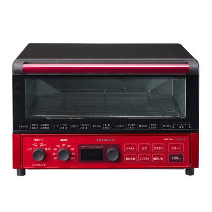 (お取り寄せ)日立 (HITACHI)コンベクションオーブントースター VEGEE HMO-F100 R(メタリックレッド)