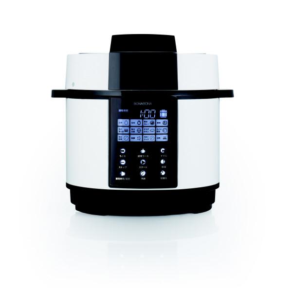 シーシーピー BD-PC72-WH 電気圧力鍋 (1.3L) BONABONA ホワイト [BDPC72WH]