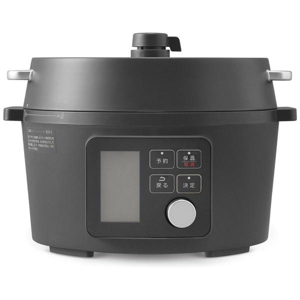 限定価格セール 圧力調理でいつもの調理時間を短縮 本格料理も簡単に調理できる電気圧力鍋 新品在庫あり:期間限定処分 アイリスオーヤマ 実物 KPC-MA4-B OHYAMA ブラック IRIS 電気圧力鍋 KPCMA4B