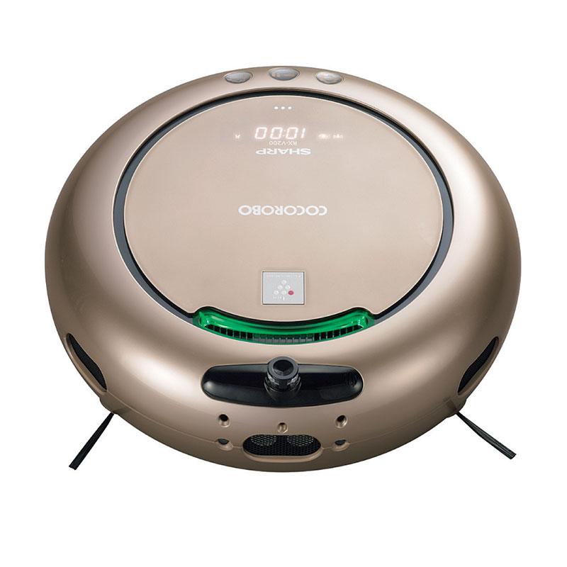 (お取り寄せ)シャープ(SHARP)ロボット家電 COCOROBO(ココロボ) RX-V200-N(ゴールド系・シルキーゴールド)