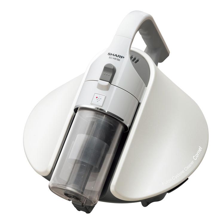 シャープ(SHARP)ふとんクリーナー(ホワイト系)(掃除機)SHARP サイクロンふとん掃除機 Cornet(コロネ) EC-HX150-W(長期安心保証対象商品)