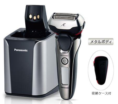(お取り寄せ)Panasonic/パナソニック 3枚刃メンズシェーバー ラムダッシュ ES-LT8A-S(ESLT8A)