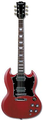 (お取り寄せ)Grass Roots G-SG-55L CH グラスルーツ エレキギター SGタイプ GSG55L