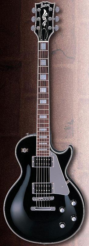 (お取り寄せ)BURNY バーニー BLK RLC-55JS エレキギター ジョン・サイクス風 RLC55JS
