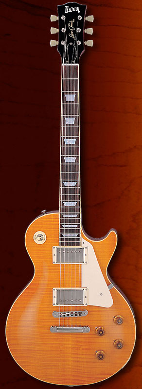 (a在庫あり)BURNY/FERNANDES RLG-55 VLD バーニー エレキギター レスポール・タイプ RLG55VLD ヴィンテージ・レモン・ドロップ