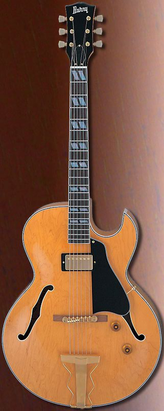 (お取り寄せ)BURNY RFA-75 VN バーニー エレキギター フルアコタイプ RFA75