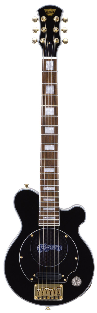 Pignose PGG-259 BK(PGG259BK)ピグノース アンプ内蔵ミニギター
