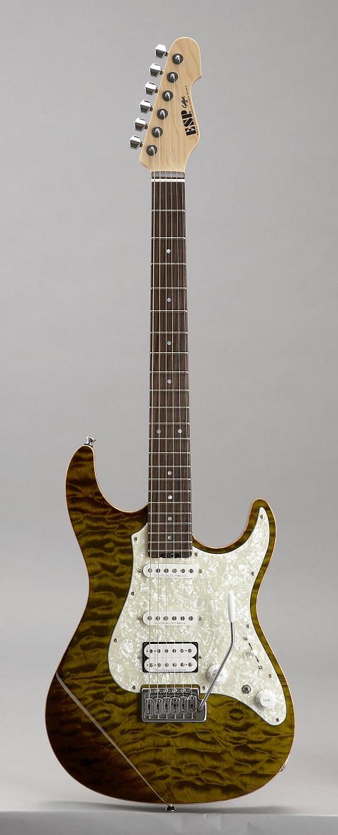ESP SNAPPER CTM Tiger Eye/R イーエスピー エレキギター ギグケース付属
