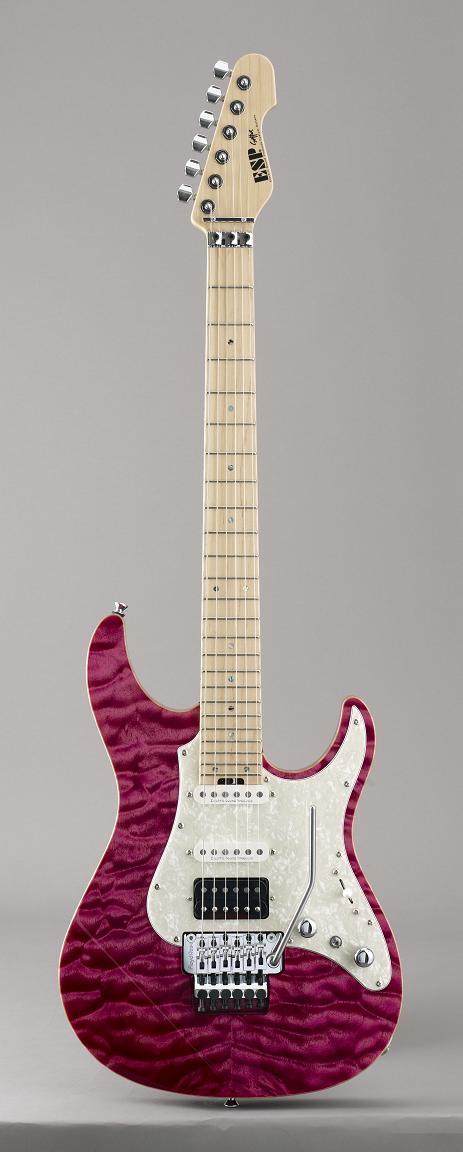 ESP SNAPPER-CTM24-FR Magenta イーエスピー エレキギター ギグケース付属