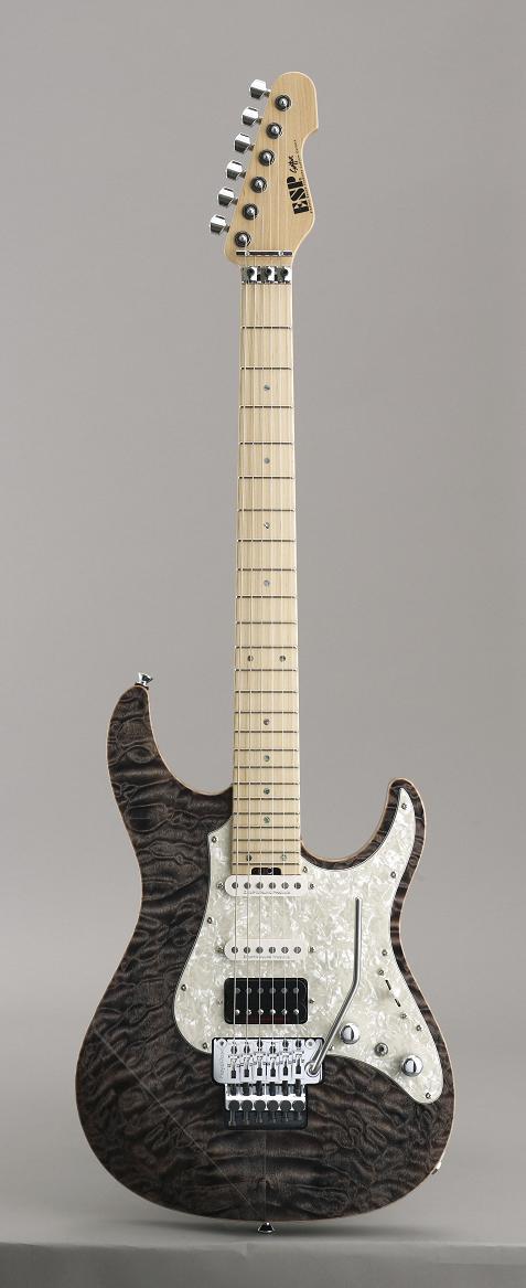 ESP SNAPPER-CTM24-FR See Thru Black イーエスピー エレキギター ギグケース付属