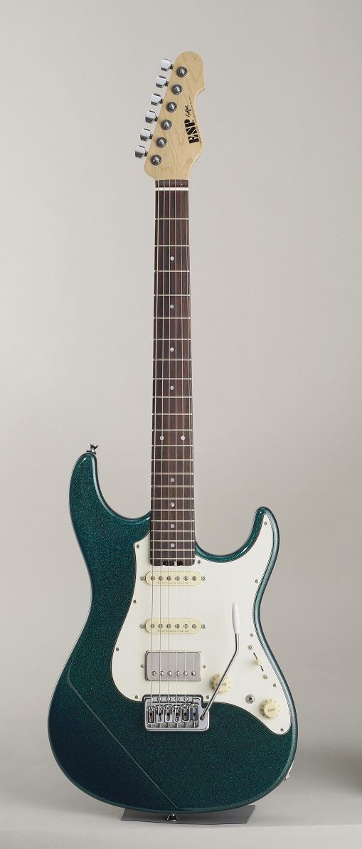 ESP SNAPPER-AL Brass Blue イーエスピー エレキギター ギグケース付属