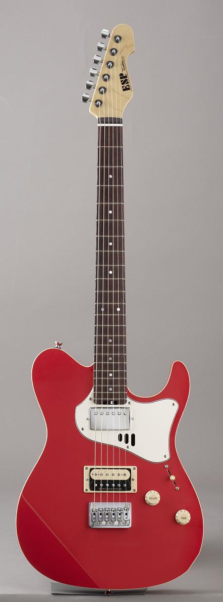ESP THROBBER-STD Vintage Coral Pink イーエスピー エレキギター ギグケース付属